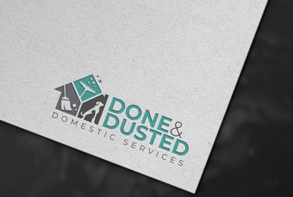 Done & Dusted Logo Design